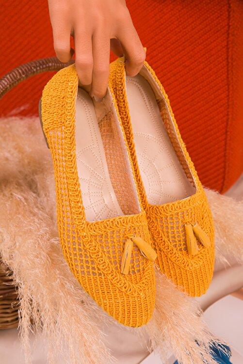 SOHO Hardal Sarı  Kadın Babet 16082 2