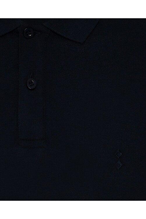 SÜVARİ Erkek Lacivert  Slim Fit Polo Yaka Tişört 2
