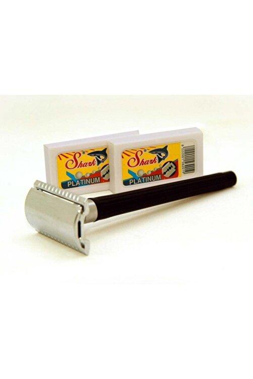 Alfa Shark Klasik Tıraş Makinesi + 10 Adet Jilet 1