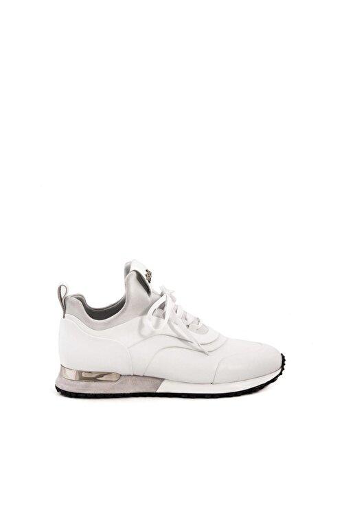 MOCASSINI Hakiki Deri  Erkek Beyaz Sneaker 191Mce002 502X 1