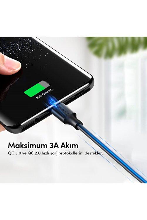 Ugreen USB Type-C Şarj ve Data Kablosu Siyah 1 mt 2