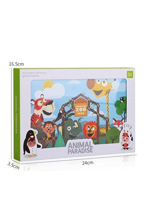 Mofy Baby Magic Water Sihirli Boyama Kitabı 3d Animasyonlu Özel Plaka Ve Kalemli Hayvanlar Alemi 2