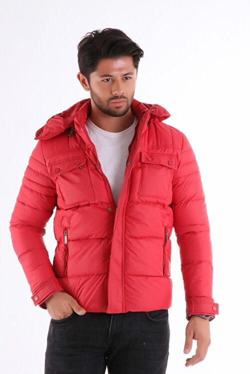 Phazz Brand Erkek Kırmızı Mont 1201 2