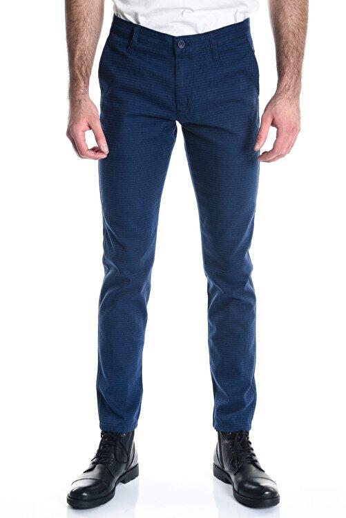 LTC Jeans Açık Lacivert Desenli Slimfit Erkek Chino Pantolon - 10357 1