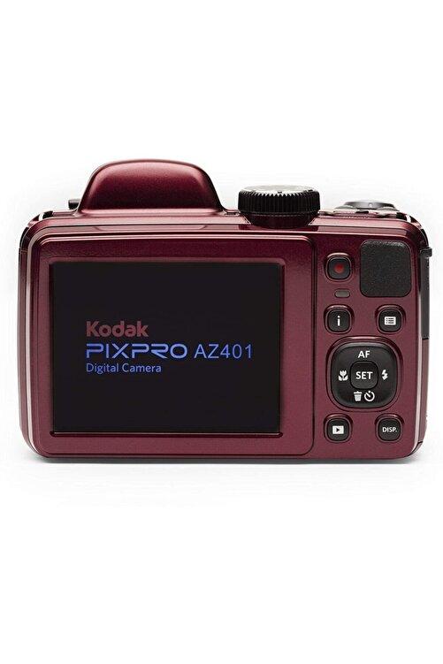Kodak Astro Zoom Az401/40x Yakınlaştırma Dijital Fotoğraf Makinesi-kırmızı 2