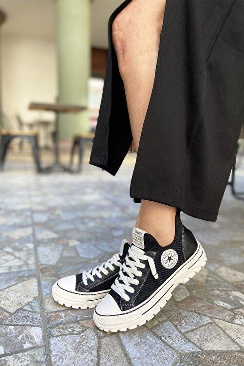 Guja Kadın Siyah Esnek Taban Spor Ayakkabı 2