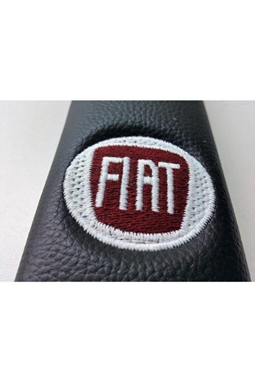 OTOPİNK Fiat Deri Emniyet Kemer Kılıfı Siyah Iki Adet 2