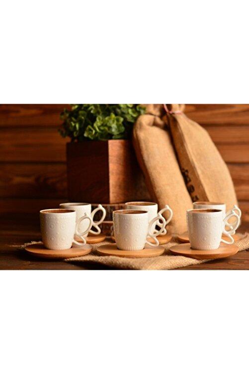 Bambum Kısmet 6 Kişilik Kahve Fincan Takımı 2