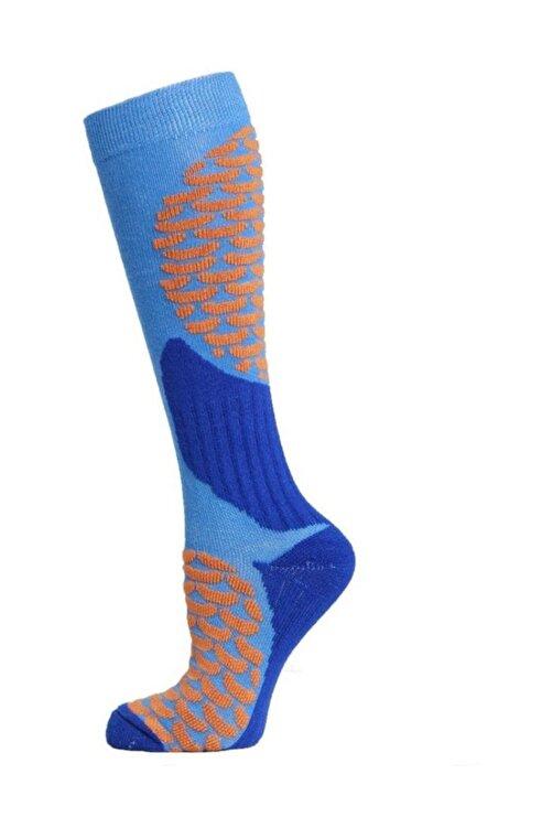 Panthzer Ski & Snowboard Erkek Kayak Çorabı Mavi 1