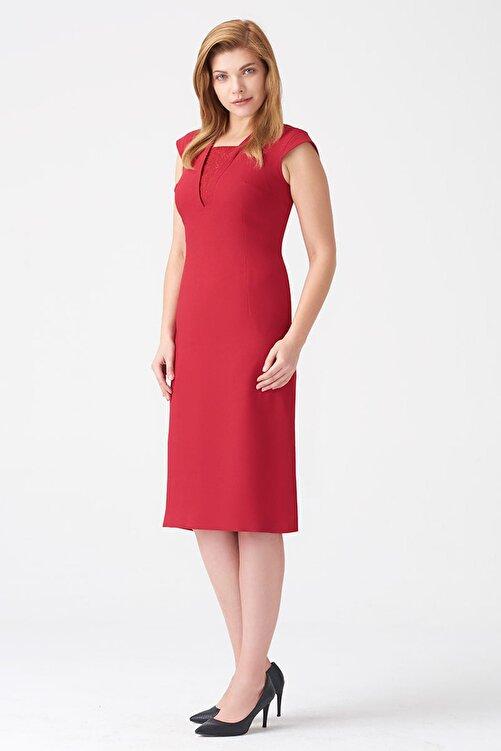 Naramaxx Kadın Koyu Kırmızı Elbise 17K11112Y829 2