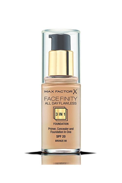 Max Factor Fondöten - FaceFinity All Day Flawless Foundation 080 Bronze 30 ml 5410076971756 1