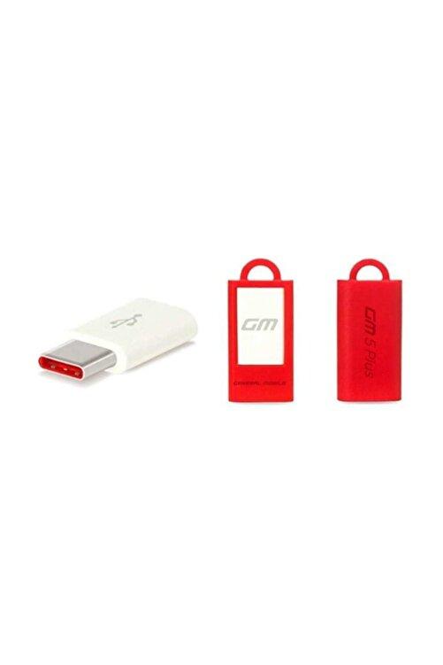 General Mobile GM 5 Plus Type-C To Micro USB Dönüştürücü Çevirici (Telpa) 1