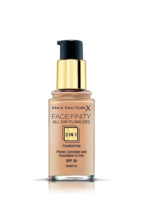 Max Factor Fondöten - FaceFinity All Day Flawless Foundation 055 Beige 30 ml 5410076971558 2