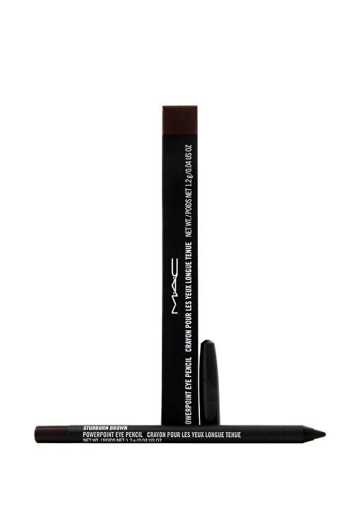 M.A.C Göz Kalemi - Powerpoint Eye Pencil Stubborn Brown 1.2 g 773602054381 1