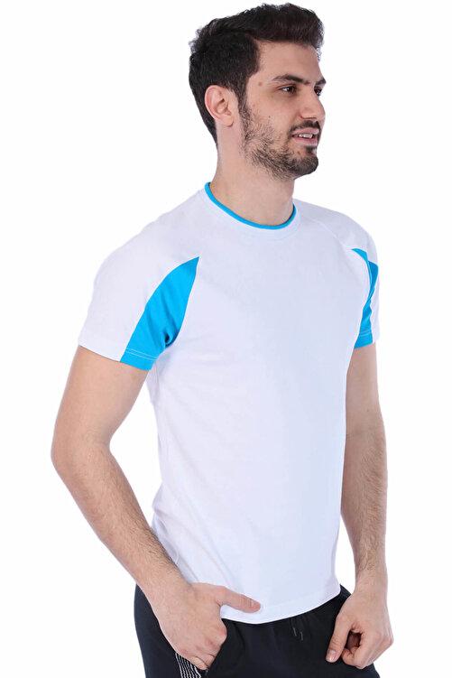 ARENA Erkek T-shirt - Essence Bisiklet Yaka Beyaz Spor - 1D11318 2