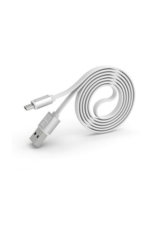 Pineng PN-303 Yüksek Hızlı Micro USB Beyaz Data Sarj Kablosu 1