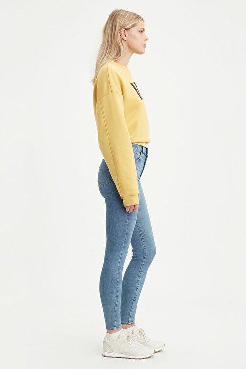 Levi's Levis Bayan Jean Pantolon 720 High Rise Super Skinny 52797-0124 2