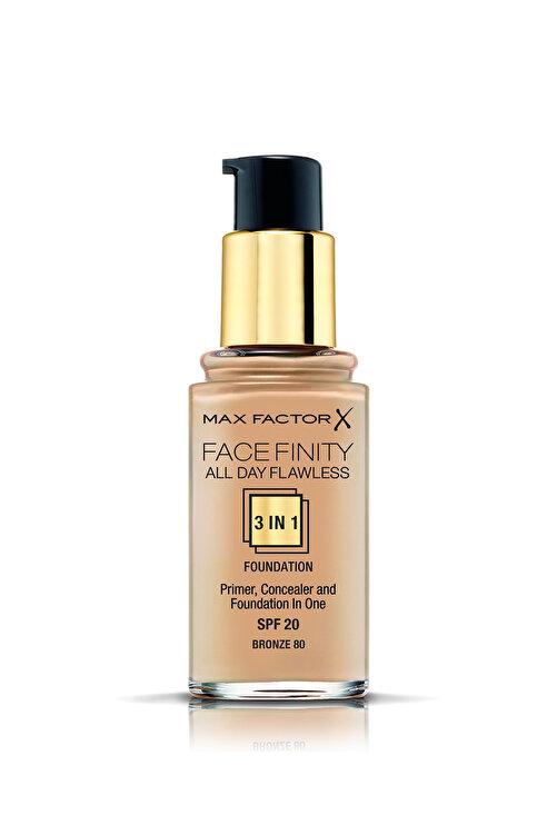Max Factor Fondöten - FaceFinity All Day Flawless Foundation 080 Bronze 30 ml 5410076971756 2