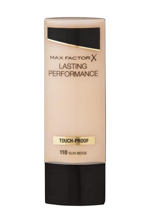 Max Factor Fondöten - Lasting Performance No: 110 Sun Beige 8005610263663 1