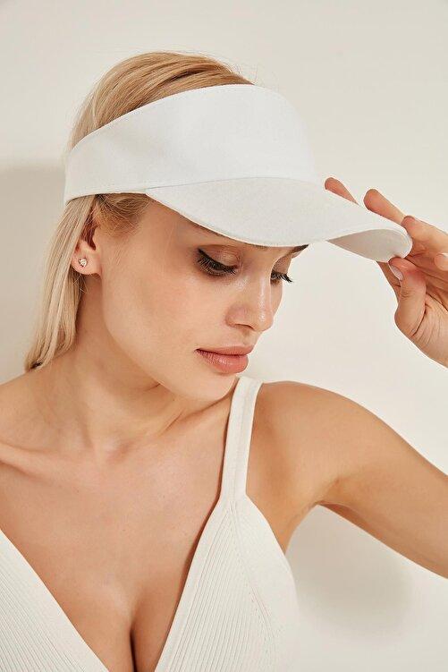 Y-London 13363 Beyaz Tenisçi Şapkası 1