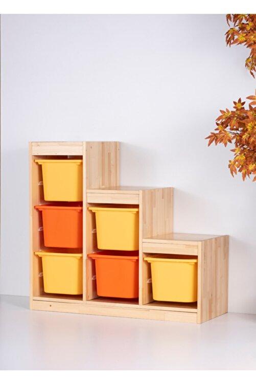 Vip Home Montessori Oyuncak Dolabı Trofast Saklama Düzenleme Ünitesi 1