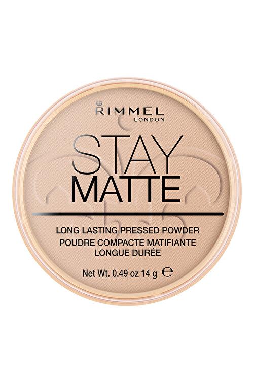 RIMMEL LONDON Pudra - Stay Matte Pressed Powder 005 Silky Beige 14 g 3607345064543 1