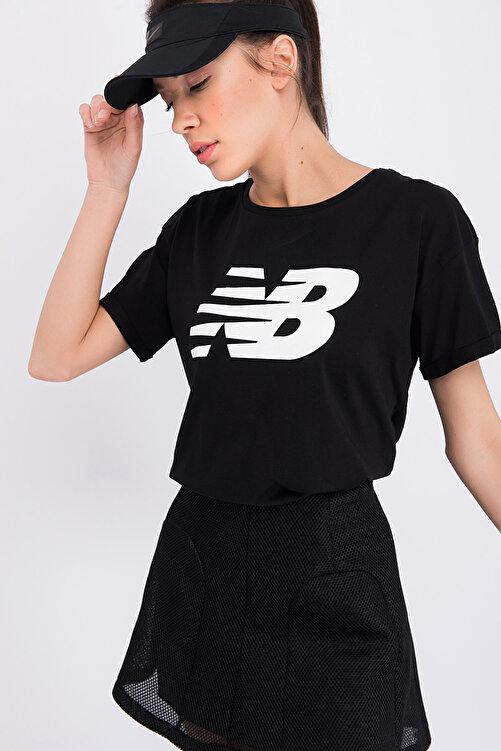 New Balance Kadın T-shirt - V-WTT807-BK 2