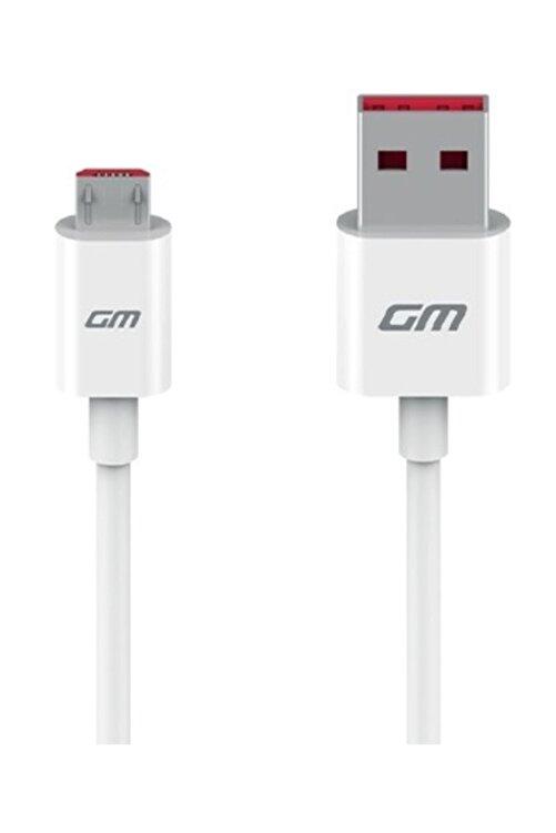 General Mobile GM 8 GO Micro USB Orijinal Şarj ve Data Kablo Beyaz (Telpa) 1