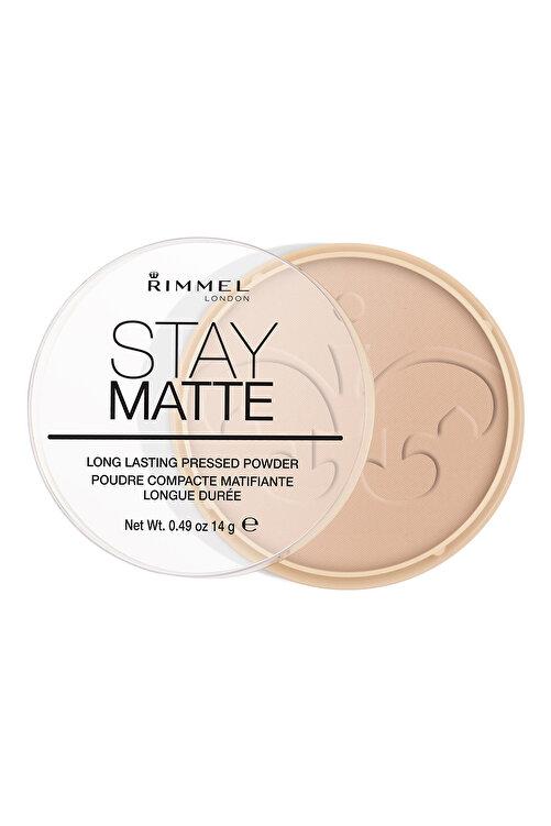 RIMMEL LONDON Pudra - Stay Matte Pressed Powder 005 Silky Beige 14 g 3607345064543 2