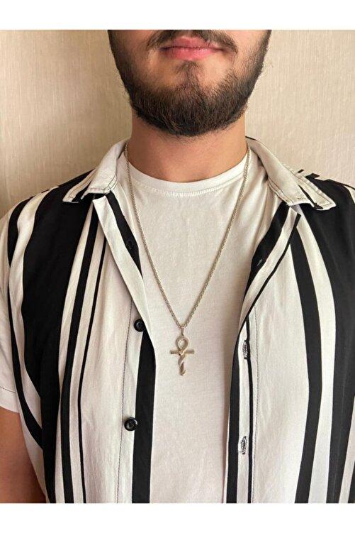 ms merijewelry Yılanlı Ankh Kolye 1