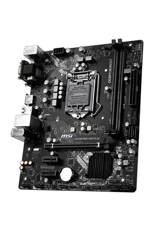 MSI H310m Pro-vdh Plus Soket 1151 Ddr4 2666 Dvı Vga Hdmı Usb3.1 Matx Wın7 Wın10 2