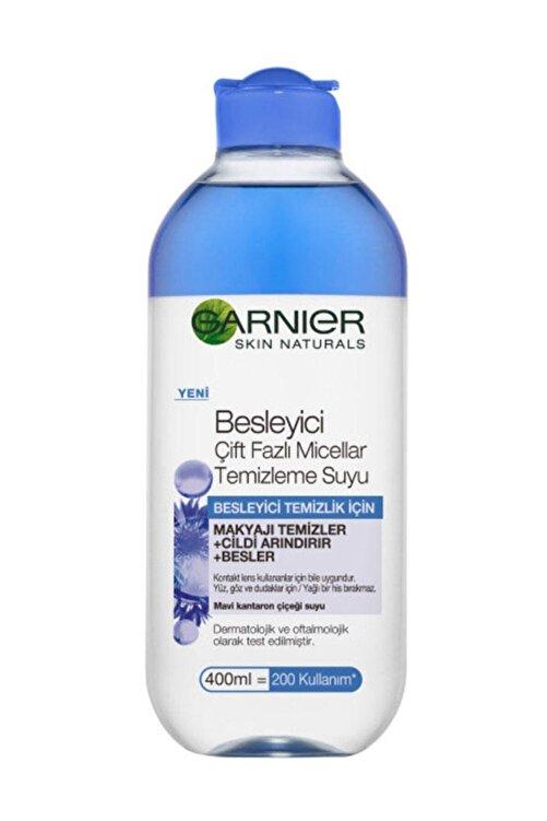Garnier Besleyici Çift Fazlı Micellar Makyaj Temizleme Suyu 400 ml 1
