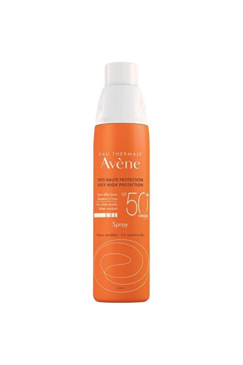 Avene Spray Spf 50+ Hassas Ciltler Için Çok Yüksek Koruma Faktörlü Vücut Spreyi 200 Ml 1