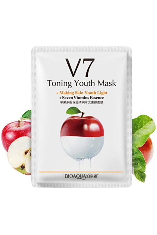 Bioaqua V7 Toning Light Elmalı Sıkılaştırıcı Gençlik Maskesi 30 Gr 1