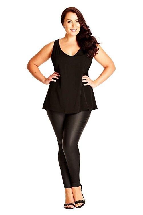 Melisita Kadın Siyah Bluz SS01576FB 2