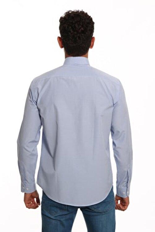 Diandor Uzun Kollu Erkek Gömlek Mavi/Blue 1922026 2