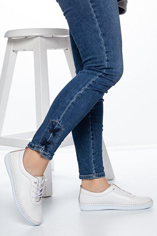 Daxtors Beyaz Kadın Ayakkabı DXTRSWMN5001 2