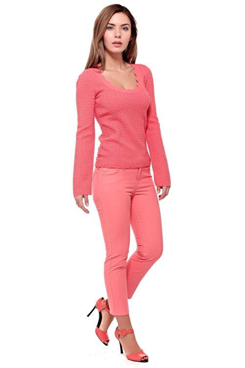 Armani Jeans Kadın Pembe Pantolon Ss1700002350 2