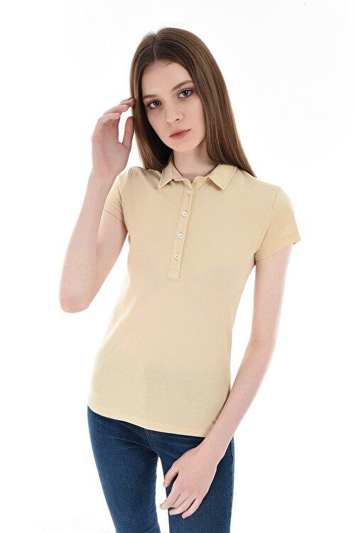 GIZA HOUSE Sarı Kadın T-Shirt 2