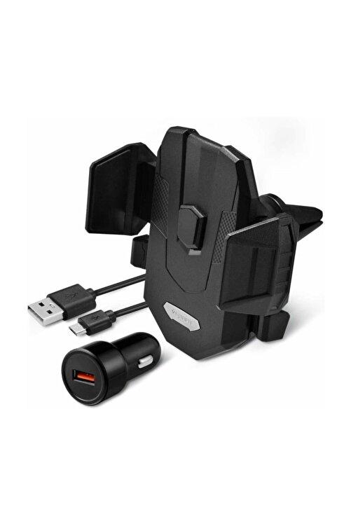 Spigen Hızlı Kablosuz Şarjlı Araç Tutucu (universal),  Kuel Qi 10w + 18w Hızlı Araç Şarjı X35w 1