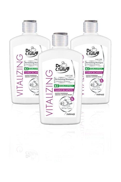 Farmasi Dr. C. Tuna Vitalizing Tüm Saçlar Için Canlandırıcı Sarımsaklı Şampuan-500ml 3'lü Set 1
