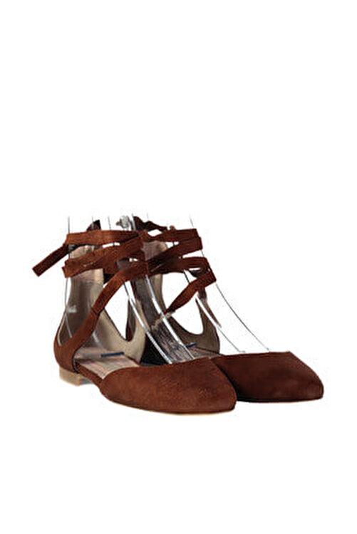 İnci Hakiki Deri Taba Kadın Sandalet 120130000919 2