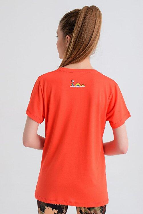 b-fit Kadın T-shirt - Wormie OM - WRMKM 2