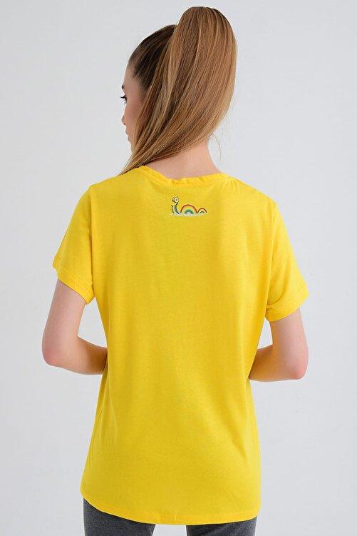 b-fit Kadın T-shirt - Wormie Ayna - WRMYN 2