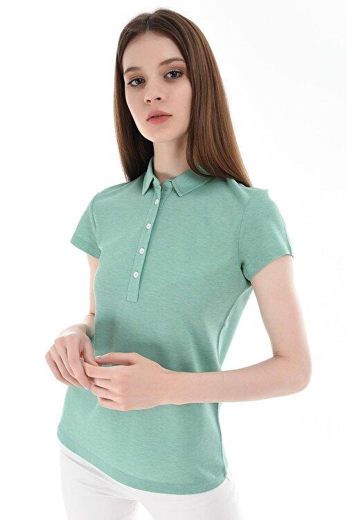 GIZA HOUSE Açık Yeşil Kadın T-Shirt 2