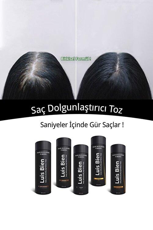 Luis Bien Saç Dolgunlaştırıcı Toz Fiber - Siyah 2