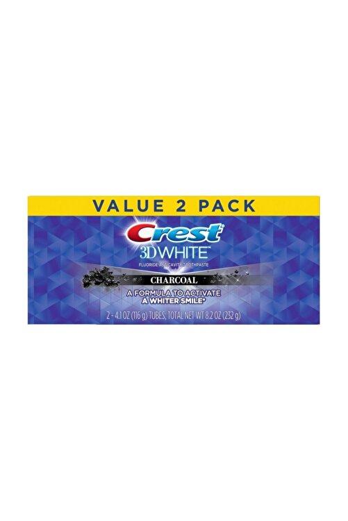 CREST 3d White Kömür Beyazlatıcı Diş Macunu 2'li 1