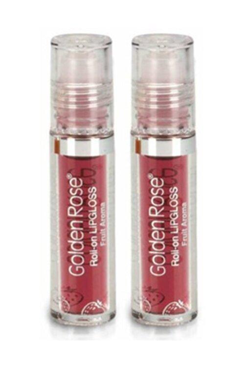 Golden Rose Meyveli Dudak Parlatıcısı  Roll On Lipgloss Çilek X 2 1