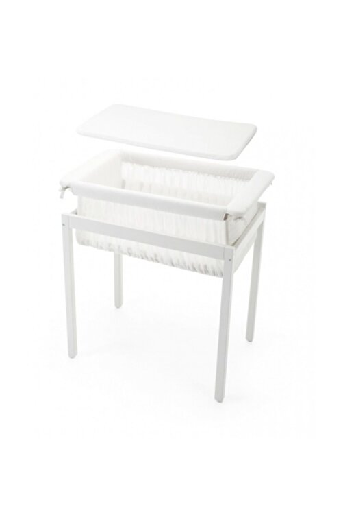 Stokke Stokke Home Cradle Beşik / White 2