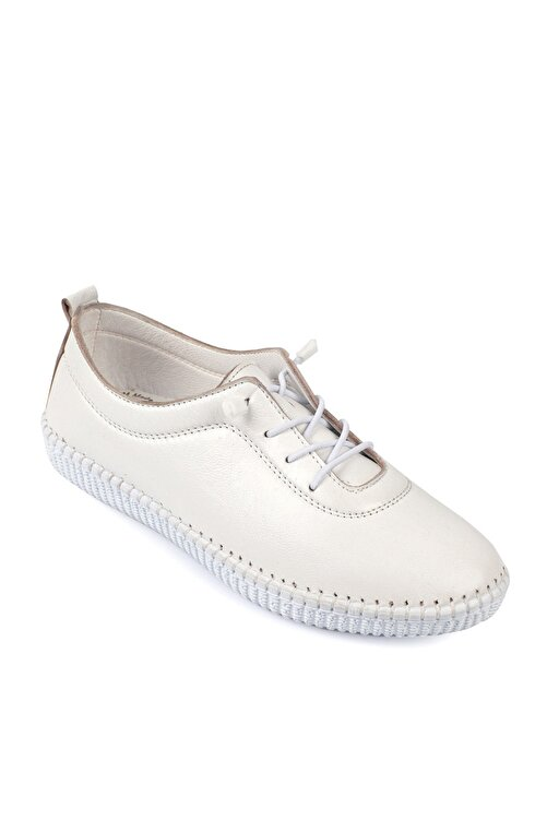 Daxtors Beyaz Kadın Ayakkabı DXTRSWMN5001 1